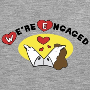 We're Engaged - Men's Premium Longsleeve Shirt
