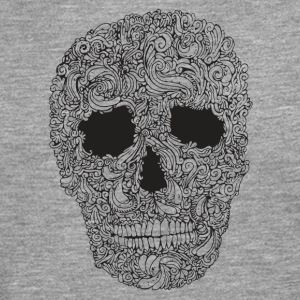 Ornement-Skull - T-shirt manches longues Premium Homme