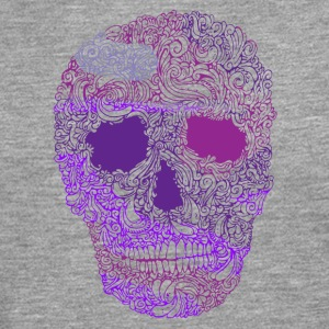 Ornement-Skull-in-Purple - T-shirt manches longues Premium Homme