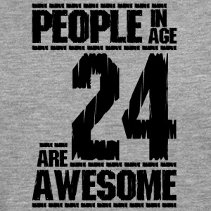 PEOPLE IN AGE 24 ARE AWESOME - Men's Premium Longsleeve Shirt