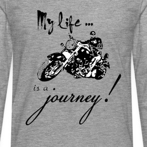 Life is a journey - Men's Premium Longsleeve Shirt