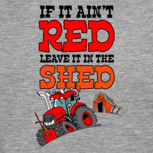If it aint red leave it in the shed nosky - Mannen Premium shirt met lange mouwen