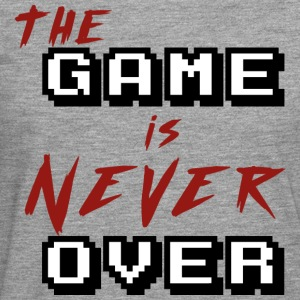 The game is never over - Men's Premium Longsleeve Shirt