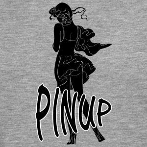 pinup sexy girl black - Men's Premium Longsleeve Shirt