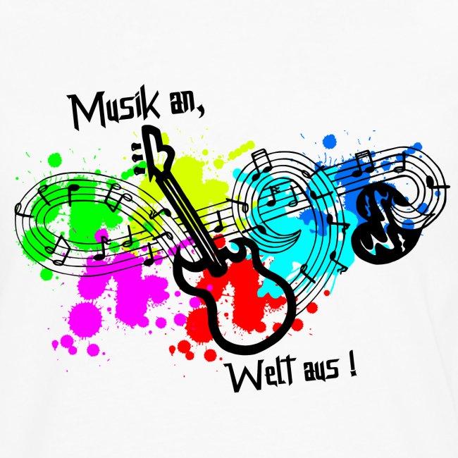 Musik - Musik hören - Musik an, Welt aus!