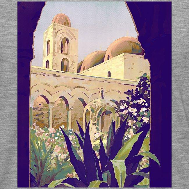 Palermo Vintage Travel Poster