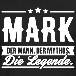 Man Myth Legend Mark - Premium langermet T-skjorte for menn