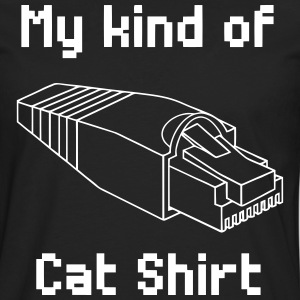 my kind of cat shirt - Men's Premium Longsleeve Shirt