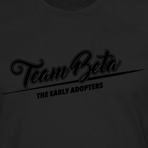 Team Beta - the early adopters - Men's Premium Longsleeve Shirt