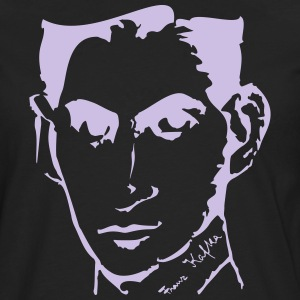 Portrait of Franz Kafka, - Men's Premium Longsleeve Shirt