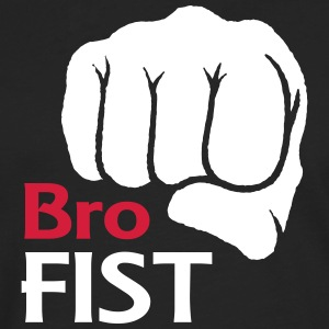 Bro Fist T-shirt de conception - T-shirt manches longues Premium Homme