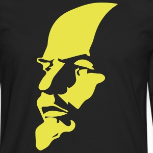 Portrait of Communist Lenin - Men's Premium Longsleeve Shirt