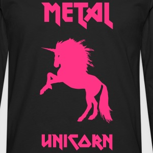 Metal Unicorn - Men's Premium Longsleeve Shirt