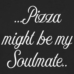 Pizza might be my soulmate - Men's Premium Longsleeve Shirt