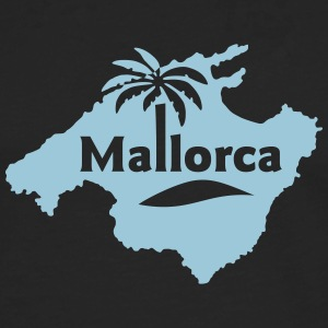 Mallorca Small Island Beach Party Spania - Premium langermet T-skjorte for menn