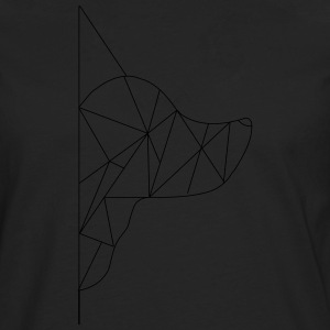 Triangle-Dog - Men's Premium Longsleeve Shirt
