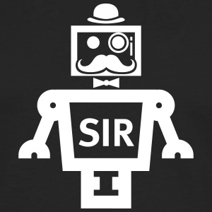 SIR Smart Item Robotics - Herre premium T-shirt med lange ærmer
