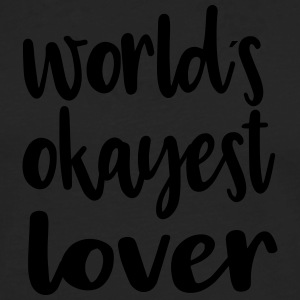 World's okayest lover - Men's Premium Longsleeve Shirt