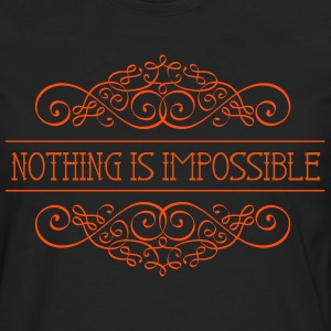 Nothing is impossible - Men's Premium Longsleeve Shirt