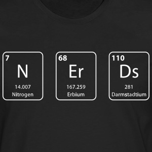 Nerds periodic table element - Men's Premium Longsleeve Shirt