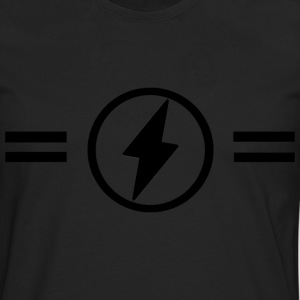 Lightning with stripes - Men's Premium Longsleeve Shirt