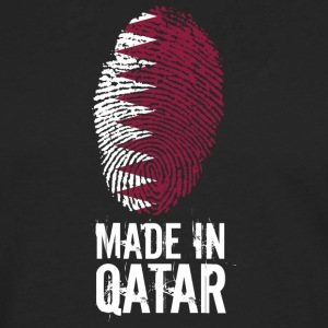 Made In Qatar / Qatar / قطر - Herre premium T-shirt med lange ærmer