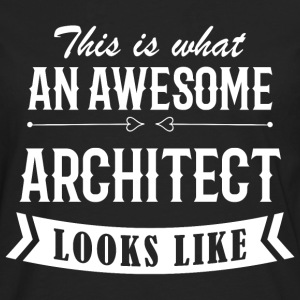 Awesome Architect - Männer Premium Langarmshirt