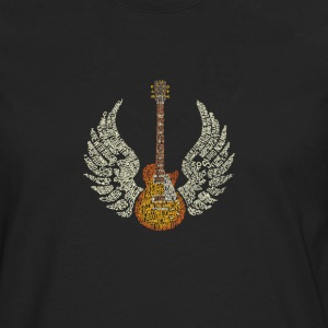 Guitar with Wings - T-shirt manches longues Premium Homme