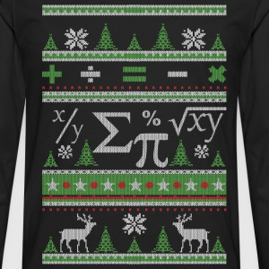 Mathematicians Ugly Christmas - Men's Premium Longsleeve Shirt
