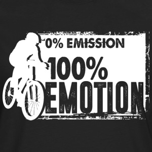 0% emission - 100% emotion - Men's Premium Longsleeve Shirt