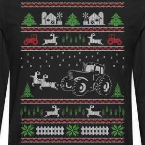 farmer Christmas - Men's Premium Longsleeve Shirt