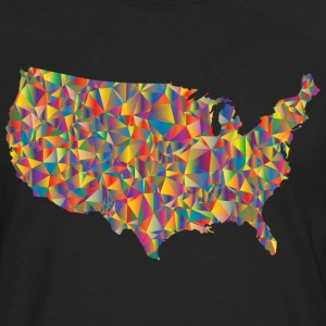 COLORFULL AMERICA - T-shirt manches longues Premium Homme