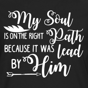 I am the lead by Him - Jesus - Men's Premium Longsleeve Shirt