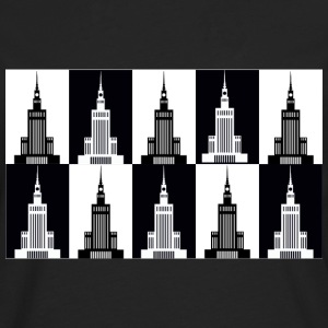 Palace of Culture and Science in Warsaw - Men's Premium Longsleeve Shirt