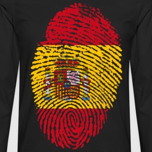 SPAIN / SPAIN FINGERABPRESSION - Men's Premium Longsleeve Shirt