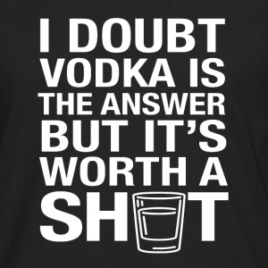 VODKA could be the solution - Men's Premium Longsleeve Shirt
