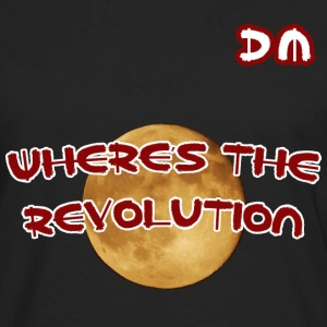 DM Where's The Revolution - Men's Premium Longsleeve Shirt