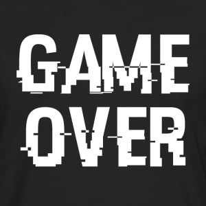 game Over - Herre premium T-shirt med lange ærmer