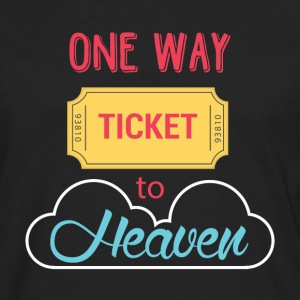 One Way Ticket to Heaven - Men's Premium Longsleeve Shirt
