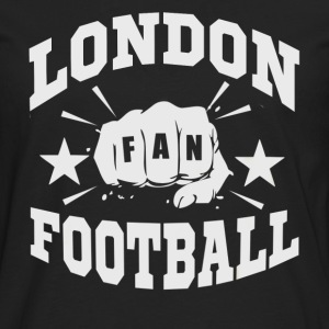 Londres Football Fan - T-shirt manches longues Premium Homme