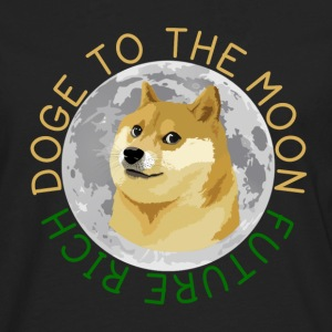 DOGE TO THE MOON - Men's Premium Longsleeve Shirt
