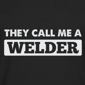 welder shirt - Men's Premium Longsleeve Shirt