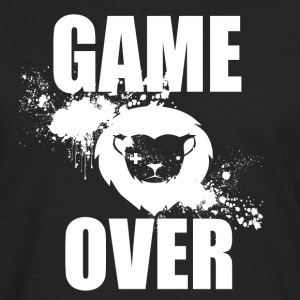 Gamer - Game Over - T-shirt manches longues Premium Homme
