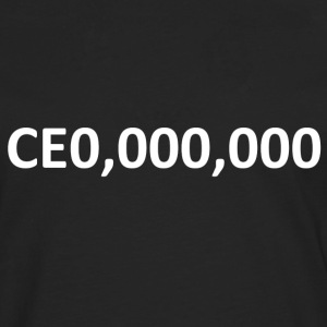 CEO, Entrepreneur 000,000 - Men's Premium Longsleeve Shirt
