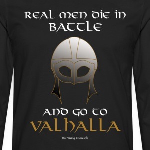 Real Men go to Valhalla - Men's Premium Longsleeve Shirt