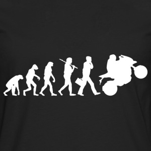 motorcycle evolution - Men's Premium Longsleeve Shirt
