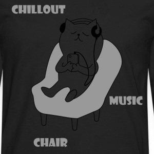Chiller cat - Men's Premium Longsleeve Shirt