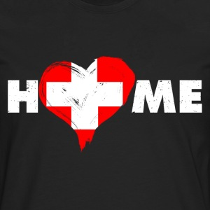 Home love Switzerland - Men's Premium Longsleeve Shirt