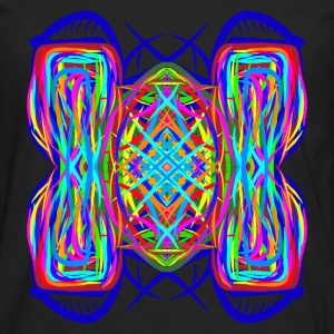 turtle tortoise trippy abstract psychedelic - Men's Premium Longsleeve Shirt