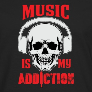 Music my Addiction - Men's Premium Longsleeve Shirt